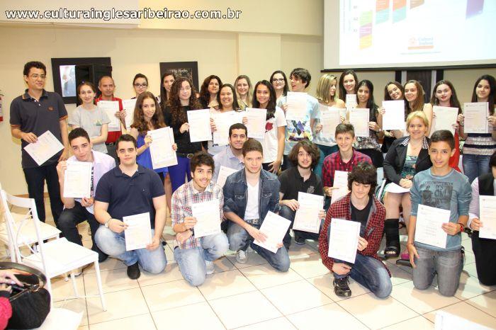 Entrega de Certificados Cambridge - 2°/2014