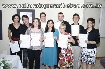 Entrega de Certificados Cambridge - Junho de 2010